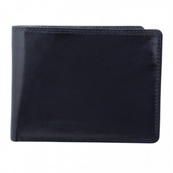 Men's Wallet - 8 Card Slots - BLACK