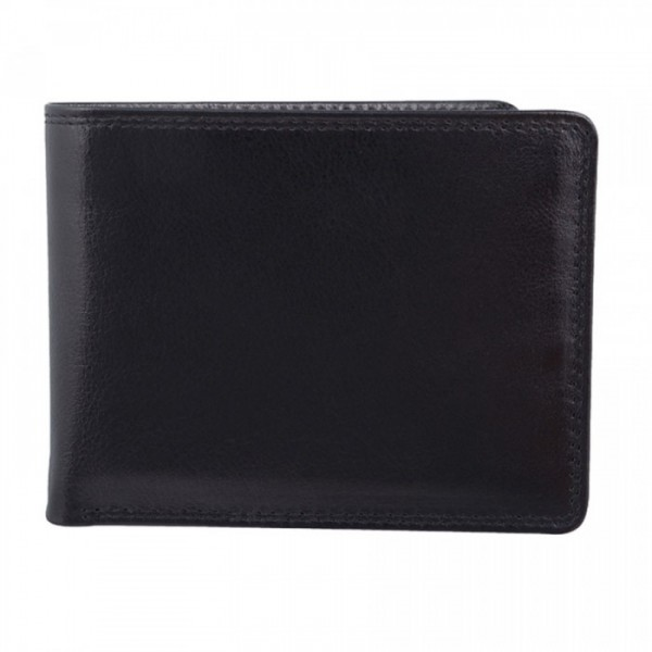 Men's Wallet - 9 Card Slots - BLACK