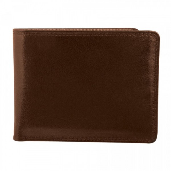 Men's Wallet - 9 Card Slots - BROWN